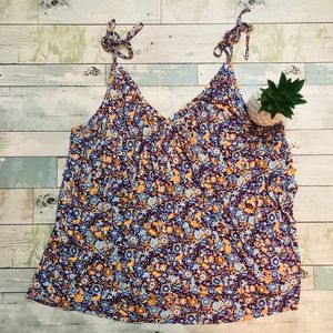 🌼Pure + Good {Anthropologie} Floral Tank